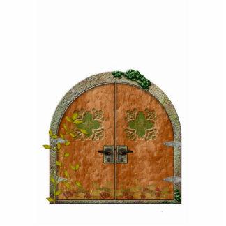 Good Luck Faerie Door Standing Photo Sculpture
