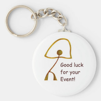 Good Luck for Special Event Basic Round Button Keychain