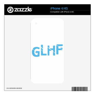 Good Luck Have Fun Decals For The iPhone 4S