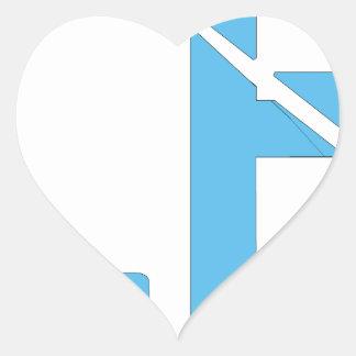 Good Luck Have Fun Heart Sticker