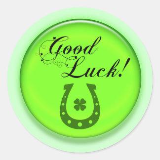 Good Luck Horse Shoe Sticker