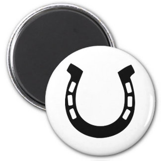 good luck horseshoe fridge magnets