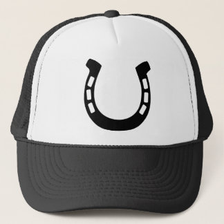 good luck horseshoe trucker hat