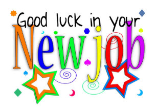 Good job cards zazzle good luck in your new job greeting card new job m4hsunfo