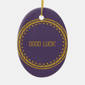 Good Luck! iPhone Case Ceramic Ornament