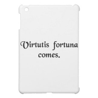Good luck is the companion of courage. iPad mini cases