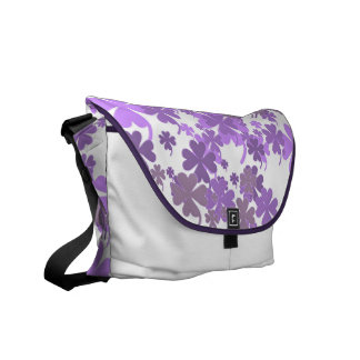 Good Luck Lavender Charms Messenger Bag by Janz