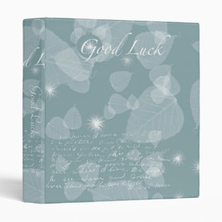 Good Luck Leaves Binder