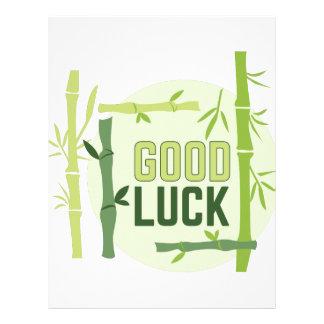 Good Luck Letterhead