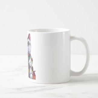 Good Luck Maneki Neko Classic White Coffee Mug