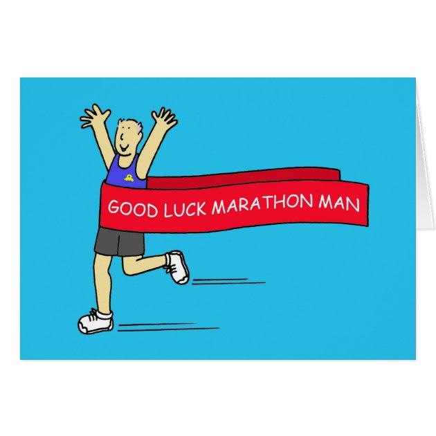 Good Luck Marathon Greeting Cards | Zazzle