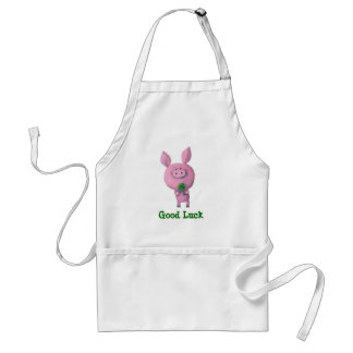 Good Luck Pig Aprons