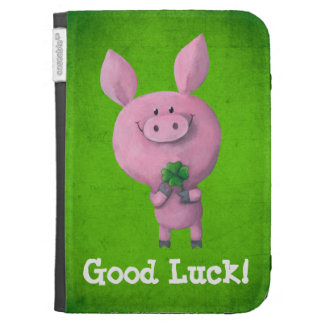 Good Luck Pig Kindle Keyboard Cases