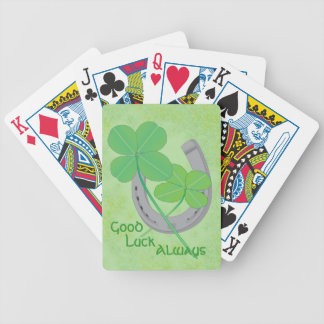 Good Luck Playing Cards