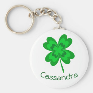 St Gift for Her Irish Lip Balm Holder Lucky Charm Keychain Patrick/'s Day Keychain 4 Lead Clover Lip Balm Holder Gift for Teen
