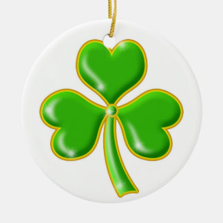 Good Luck Shamrock Ornament