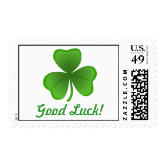 Good Luck Shamrock Postage