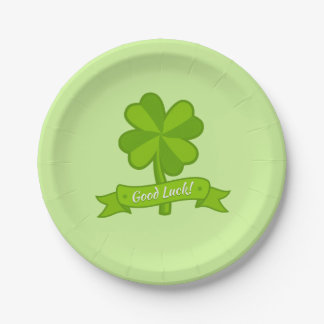 Good luck 7 inch paper plate
