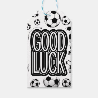 Good Luck - Soccer Gift Tags