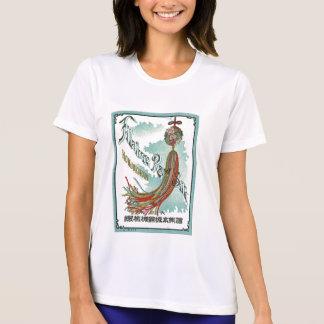 Good Luck Symbols Vintage Japanese Silk Label Tshirts