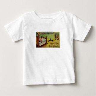 Good Luck This Halloween (Vintage Halloween Card) Baby T-Shirt