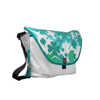 Good Luck Turquoise Charms Messenger Bag by Janz