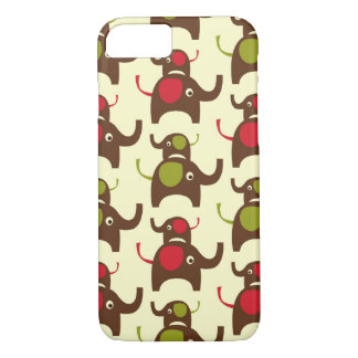 Good luck two elephants elephant iPhone 7 case