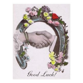 Good Luck Vintage Horseshoe Postcards