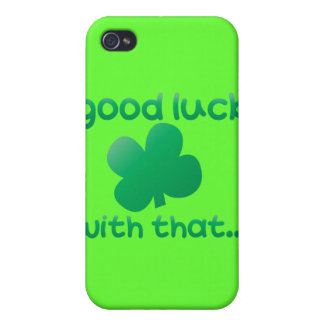 Good luck with that... cases for iPhone 4