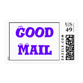"""""""Good Mail"""" postage stamps"""