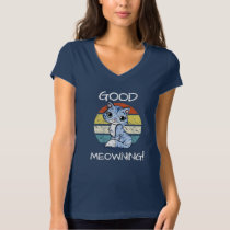 Good Meowning Kitty Cat T-Shirt