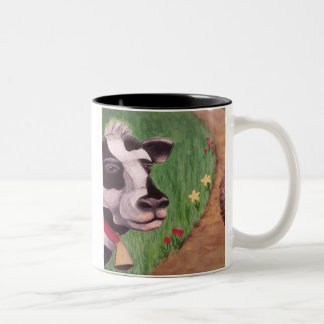 Good Moo-ning Two-Tone Coffee Mug
