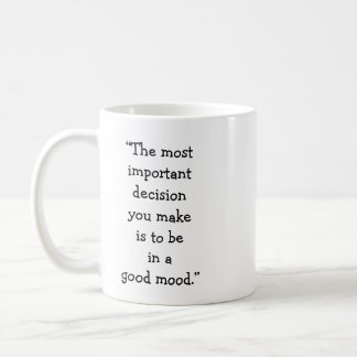 Good Mood Classic Mug