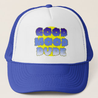 Good Mood Dude (Blue) Trucker Hat