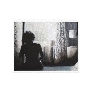 """Good Mornin Heartache"" Canvas Print"