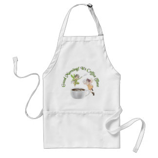 Good Morning! Adult Apron
