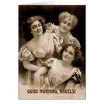 Good Morning, Angels! Card