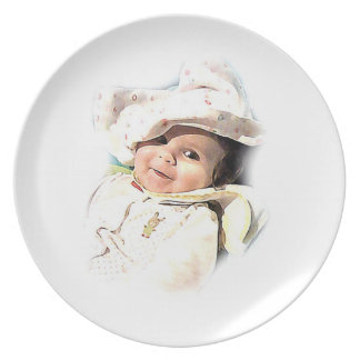 Good Morning - Baby Plate No. 3