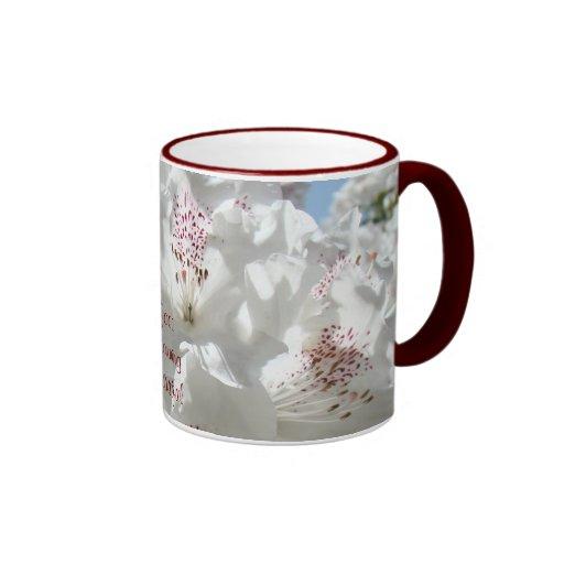 Good Morning Beautiful Coffee Cup White Rhodies Mug Zazzle