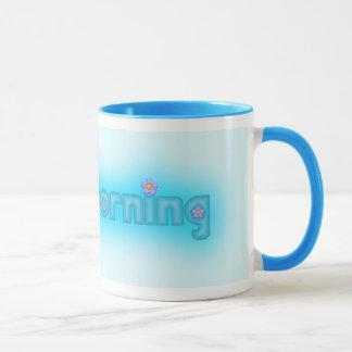 Good Morning Blue Mug