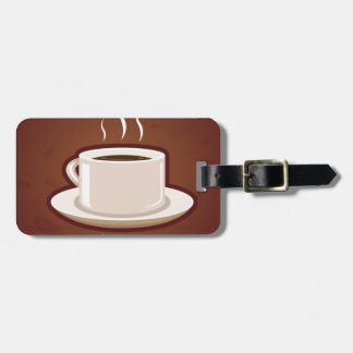 GOOD MORNING BROWN COFFEE DRINKS CAPPUCCINO MOCHA TAGS FOR BAGS