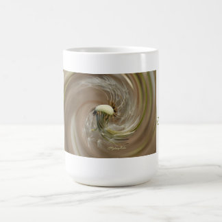 """good morning"" by mysteryella coffee mug"