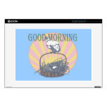 Good Morning Chicken Decal For Laptop