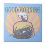 Good Morning Chicken Tile