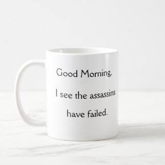 Good Morning Co-Worker Coffee Mug