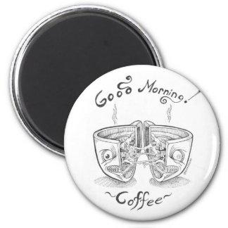 Good Morning Coffee -3 magnet