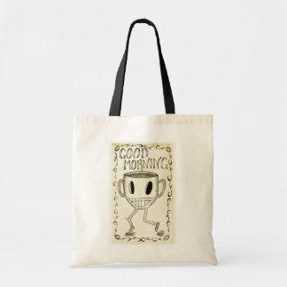 Good Morning Coffee Budget Tote Bag