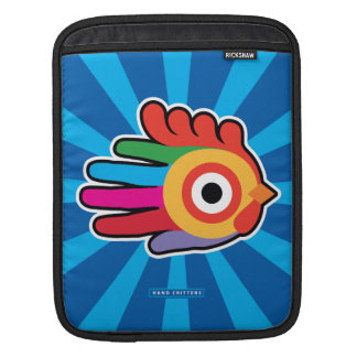 Good Morning Colorful Rooster Sleeves For iPads