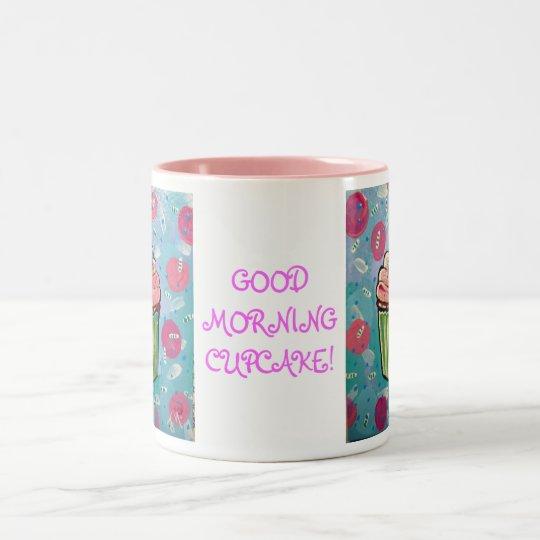 Good Morning cupcake MUG