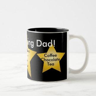 Good Morning Dad! Mug-Customize Two-Tone Coffee Mug